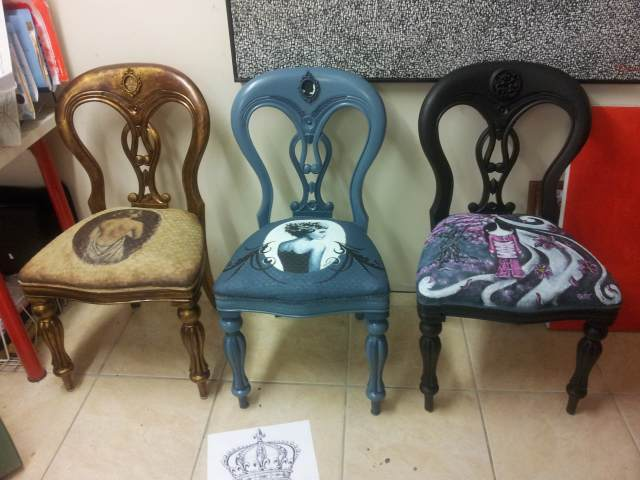 Queen Adelaide Chairs